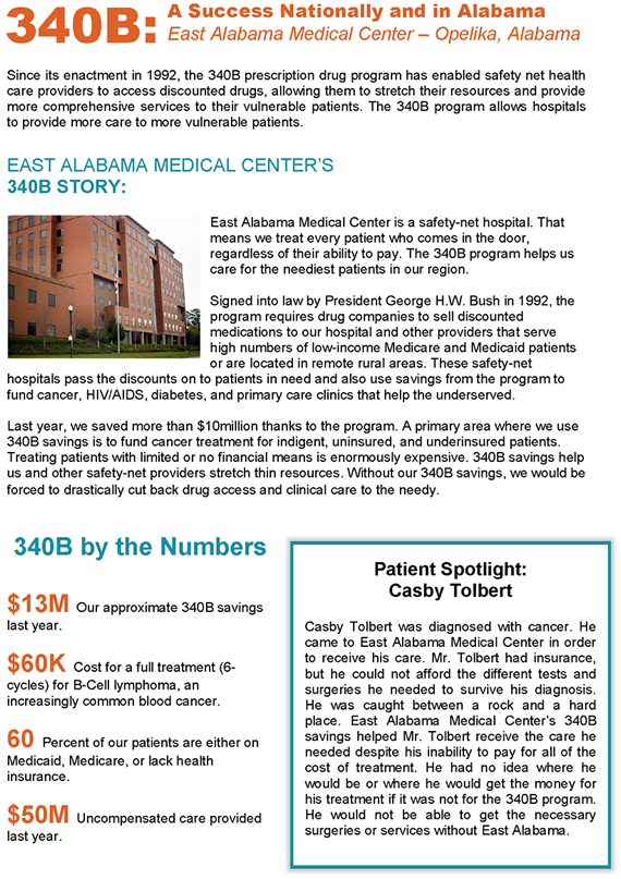 East Alabama Medical Center Impact Profile