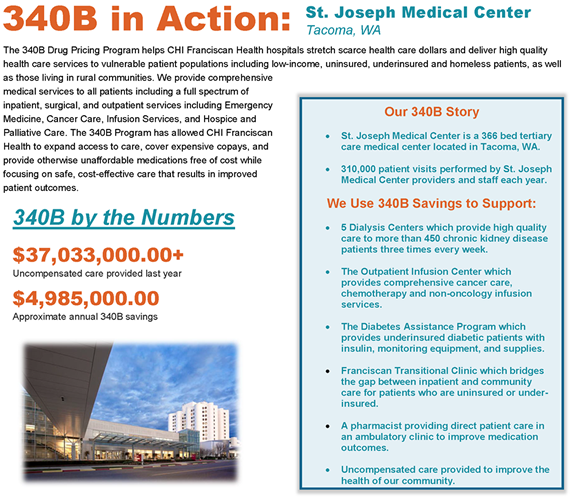 St. Joseph Medical Center Impact Profile